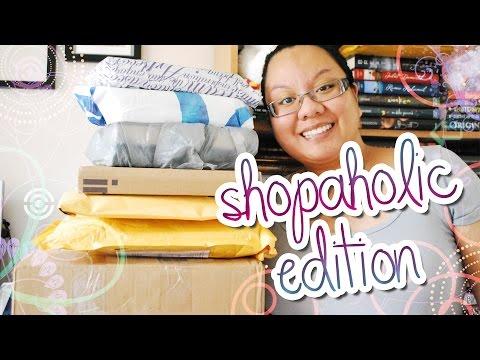 Book Haul Unboxing #76: Shopholic Edition (July 2014)