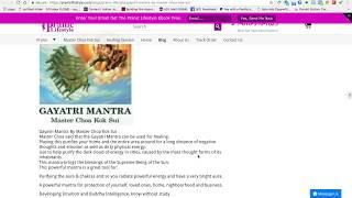 Baixar Gayatri Mantra By Master Choa Kok Sui