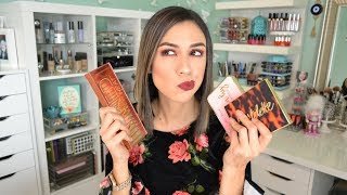 Naked Heat, Just Peachy Mattes, or Tartelette Toasted? | Which is best for you? SWATCH HEAVEN!