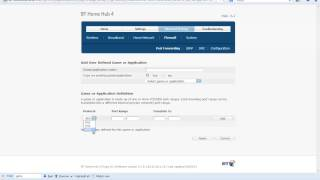 port forwarding tutorial bt home hub 4 gmod