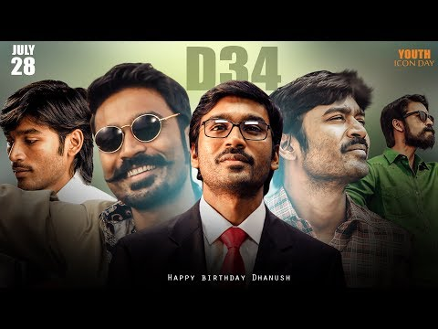 Dhanush Birthday special mashup by his fans