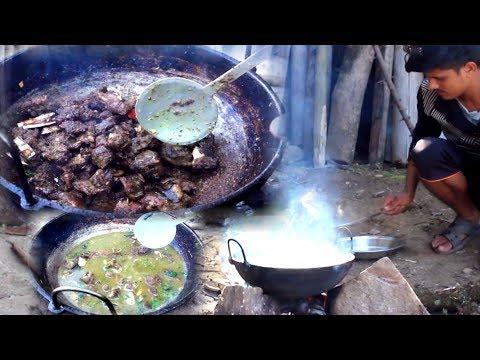 Nepali Rural village kitchen || village food || organic healthy cooking system ||