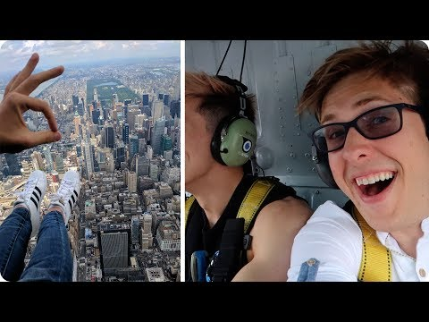 Helicopter over New York City! | Evan Edinger Travel