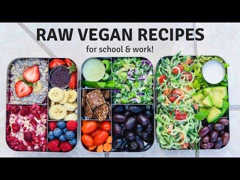 RAW VEGAN MEAL PREP RECIPES 🥑 Healthy + Easy Ideas!