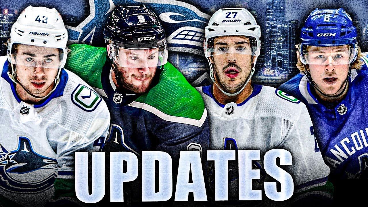 CANUCKS UPDATES & NEWS: Travis Hamonic, Brock Boeser, Quinn Hughes, JT Miller (VS Buffalo Sabres)