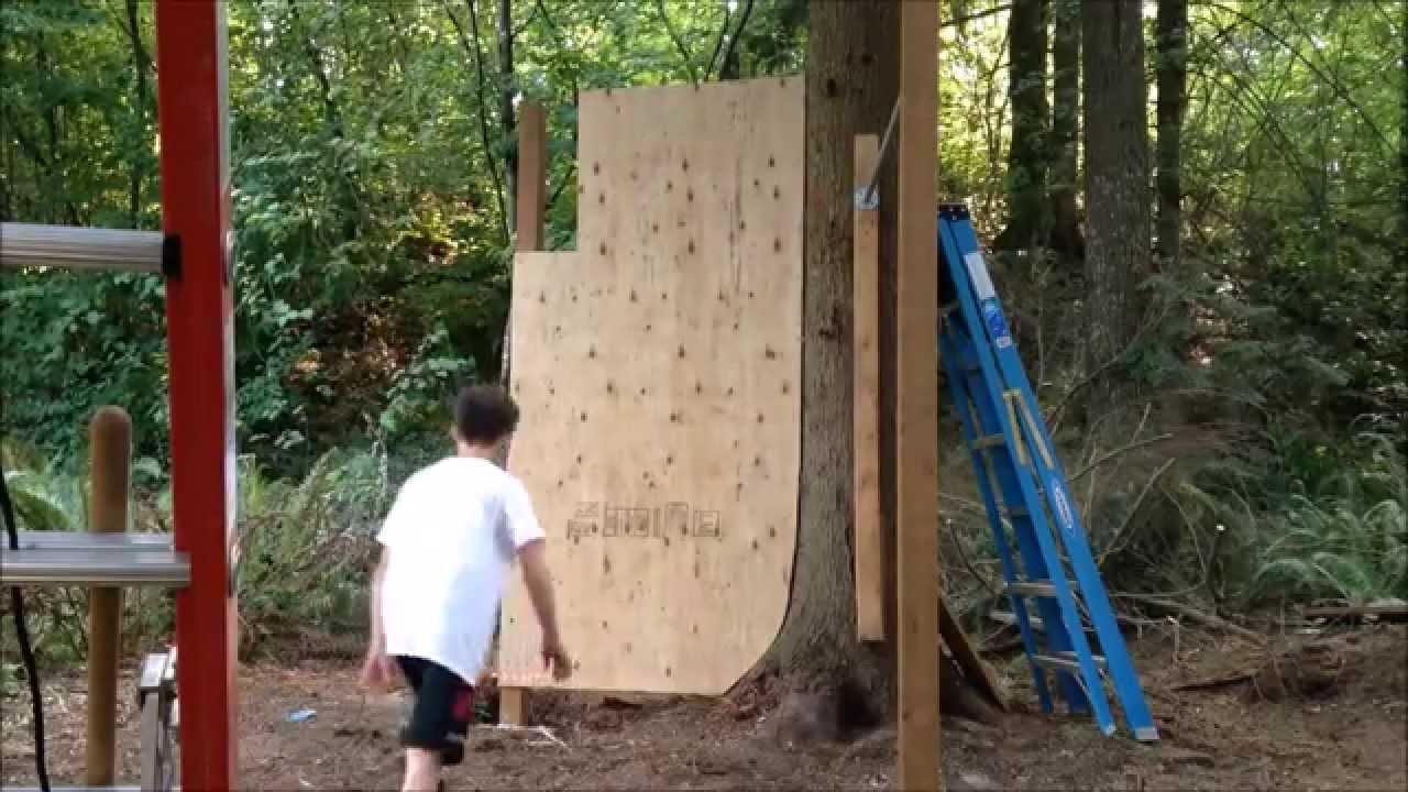 Amazing New Backyard PlayGround (Parkour/Freerunning ...