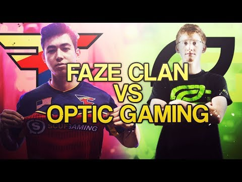 FaZe Clan vs OpTic Gaming (with Gunless)