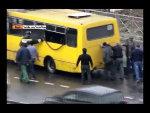 В Сочи сгорел автобус. Новости 24 Сочи Эфкате