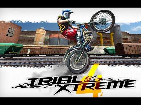 Trial Xtreme 4 - Гонки на мотоциклах с препятствиями на Android