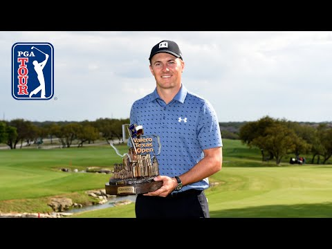 Jordan Spieth gets his first victory in 83 starts, 3 years and 255 days
