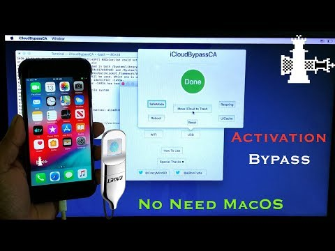 Without Shiftkey* IPhone ICloud Activation *Bypass* Windows IOS ✔️13.3/12.4.5 Home Key Working* 💯