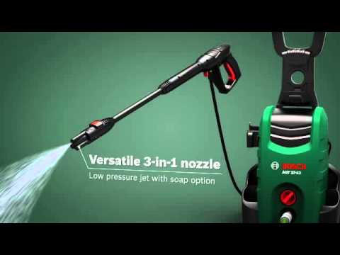 Bosch Pressure Washers Youtube