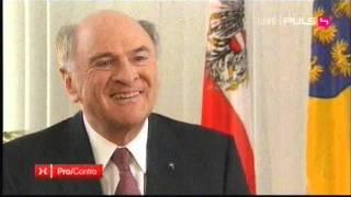Pro & Contra - Corinna Milborn interviewt Erwin Pröll über das Spekulationsdesaster in NÖ