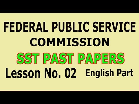 Pedagogy) SST past papers (FPSC) Lesson no  02 - YouTube