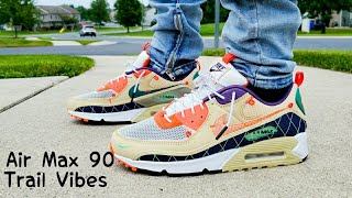 Air Max 90 Trail Vibes 2020 Unboxing & On Feet - YouTube