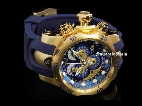 37f15724fb1 Relógio Original invicta venom ref 14465 Vs Replica saiba as diferenças  Altarelojoaria