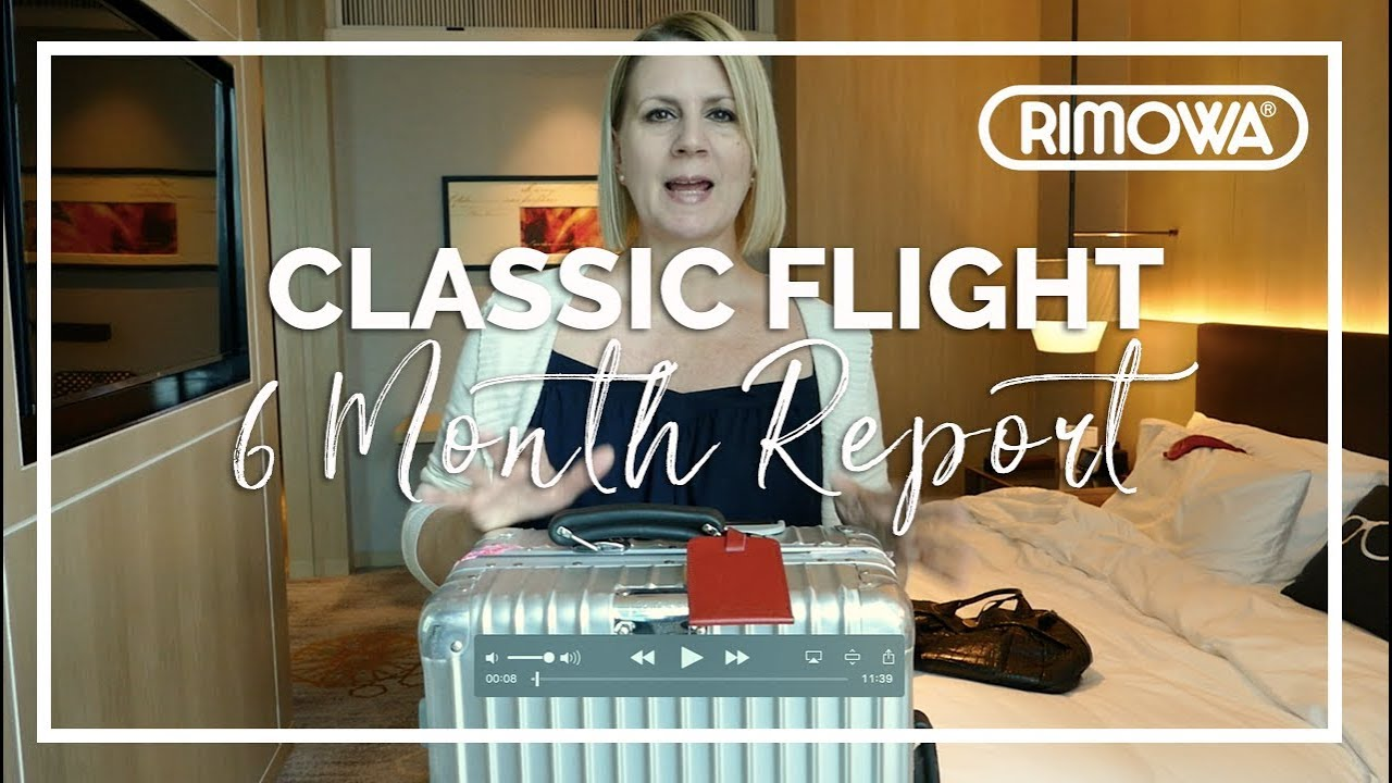 ce181d9bbcb Review | RIMOWA Classic Flight + 6 Month Check-In Commentary - YouTube