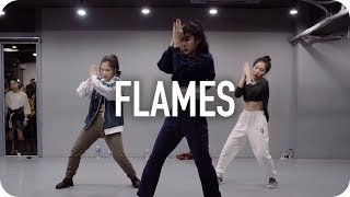 Flames - David Guetta & Sia / Jin Lee Choreography MP3