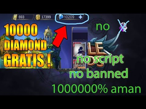[TERBARU] BUG/CARA DAPAT DIAMOND MOBILE LEGENDS GRATIS 10000% work