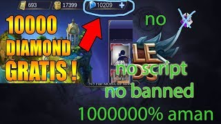 Video [TERBARU] BUG/CARA DAPAT DIAMOND MOBILE LEGENDS GRATIS 10000% work download MP3, 3GP, MP4, WEBM, AVI, FLV September 2018