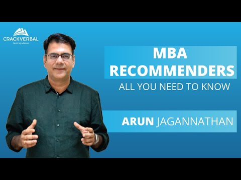 MBA Recommenders: All You Need To Know!