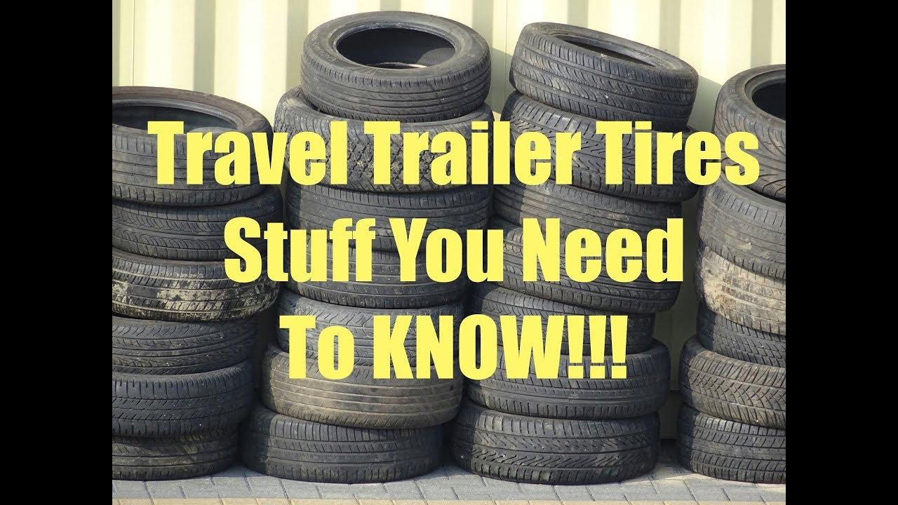 Airstream, Travel Trailer Tires ST225/75R15
