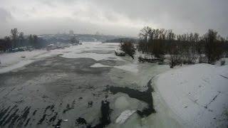 Зимнее плавание. Winter swimming.Sergey Novikov. 27.01.2016