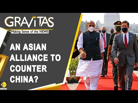 Gravitas: Countering China's aggression: India and US to sign key military pact