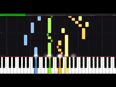 The Art of Fugue part I - BWV 1080 - J.S.Bach - Synthesia HD 60 fps
