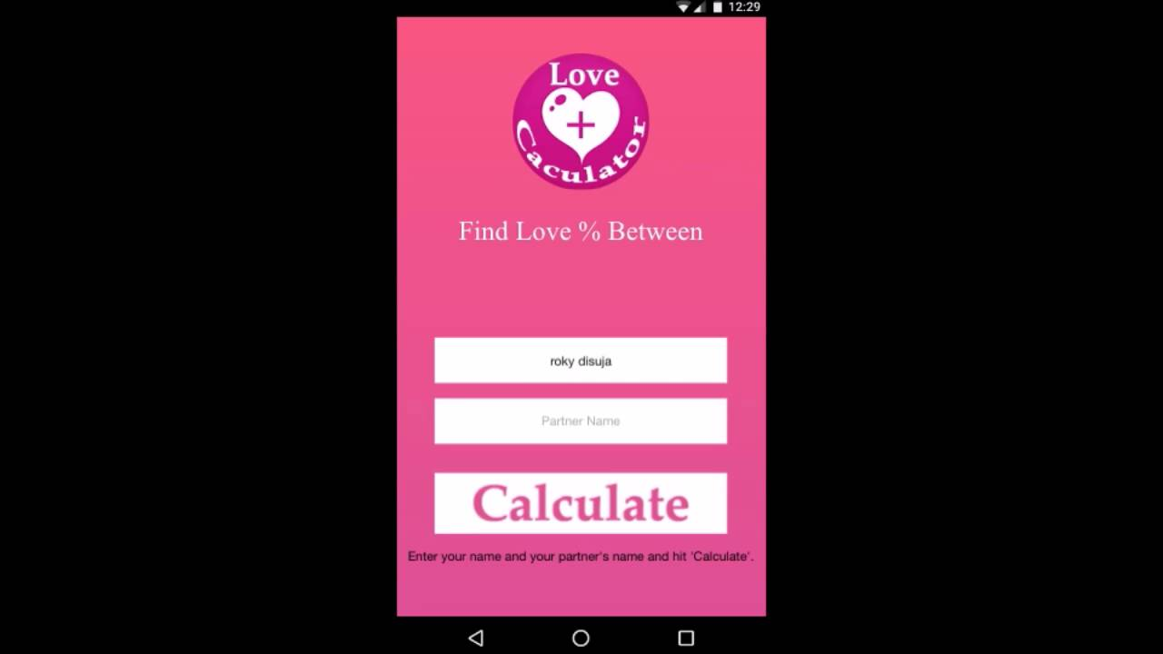 Love Calculator - test love | love match | love meter