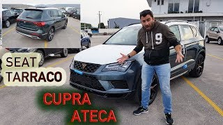 Τα πρώτα SEAT Tarraco και CUPRA Ateca που ήρθαν στην Ελλάδα