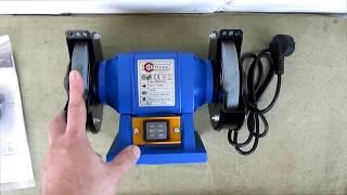 Точильный станок Odwerk BDS 125 (распаковка , обзор)