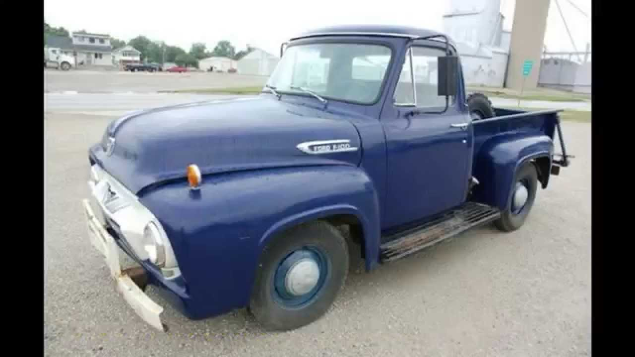 1954 ford f100 stepside pickup all original sold on