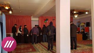 Драки, скандалы, выключение света: как голосуют в Махачкале