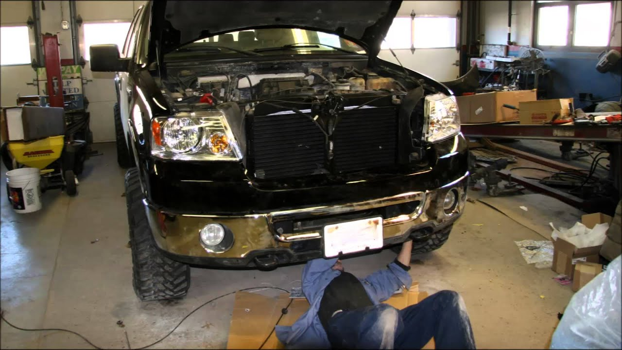 2005 Ford F 150 Front Bumper Diagram Throat Anatomy 2004 2014 Strut Replacement Procedure