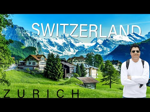 Zurich Switzerland Travel Vlog | Zurich City Tour  | Europe Trip EP-42