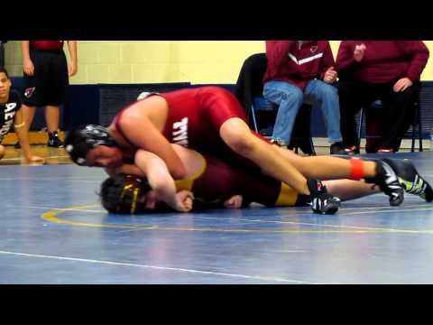 wyandotte middle school wrestling tournement feb.4, 2012