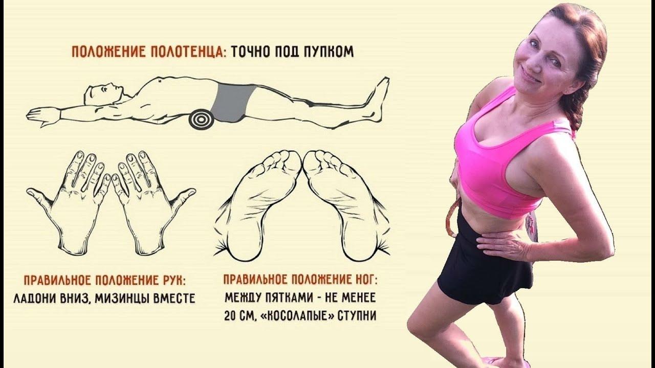 упражнения для похудения талии и боков олег