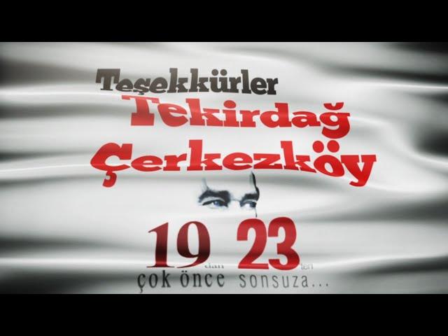 19'dan Çok Önce, 23'ten Sonsuza - Senfonik Destan, Çerkezköy AKM Açılışında