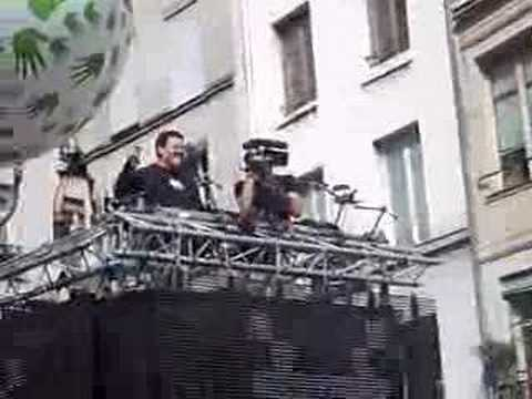 Techno parade 2007: Joachim Garraud's arrival
