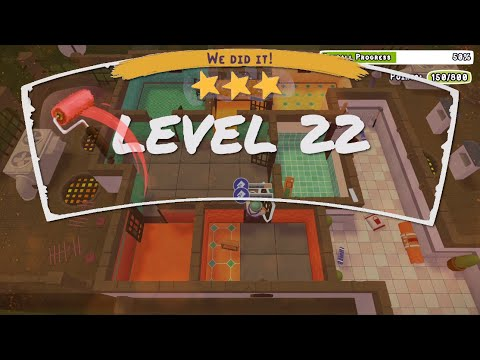 Tools Up! Level 22 Solo Perfect Run (3 Stars)