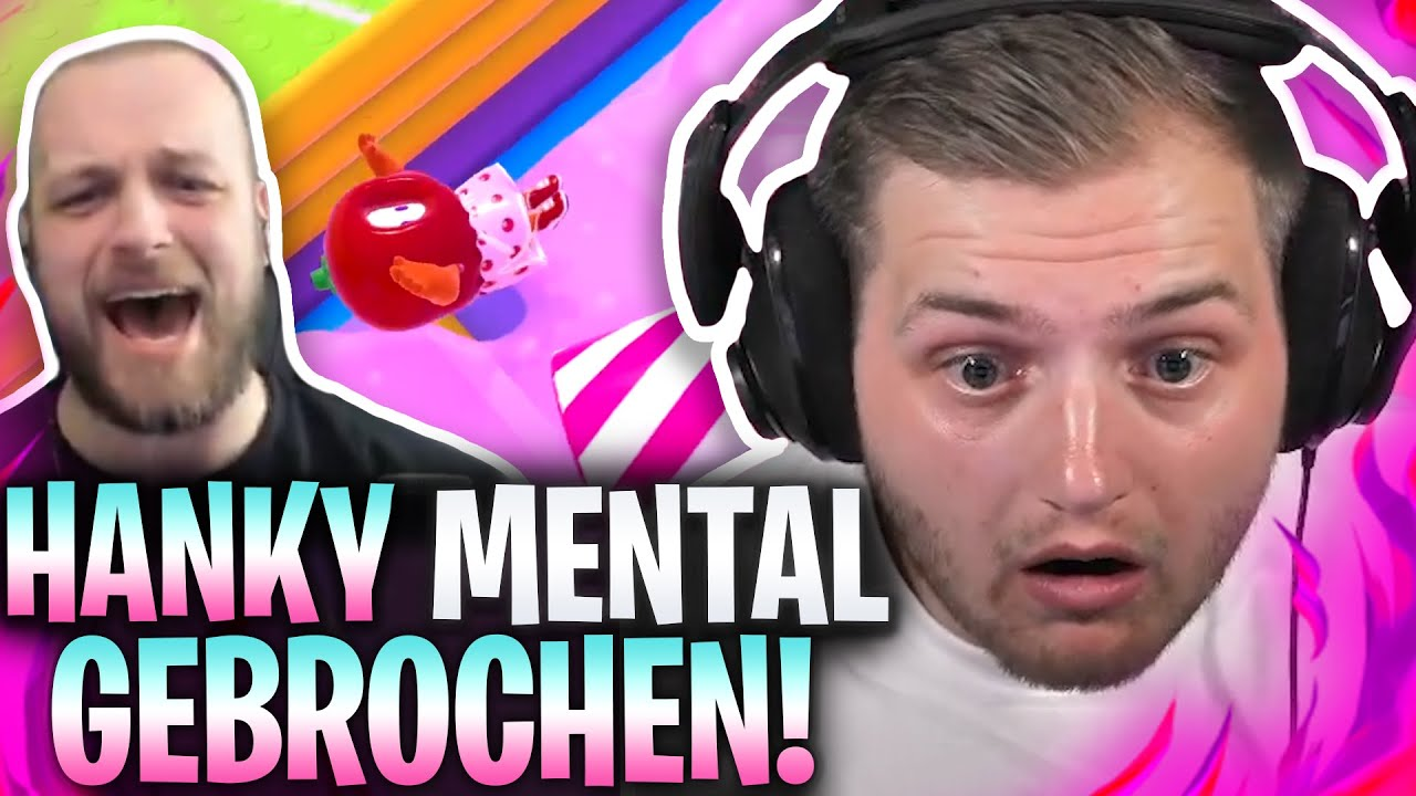 😂😈HANKY den TAG VERSAUT?! | 100€ PRO RUNDE im FALL GUYS Community Turnier