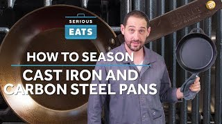 How to Season Cast Iron the Right Way | Serious Eats