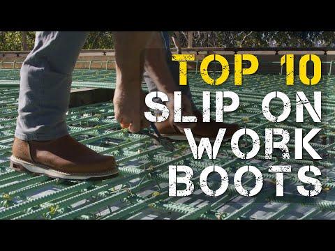 Top 10 Best Slip on Work Boots