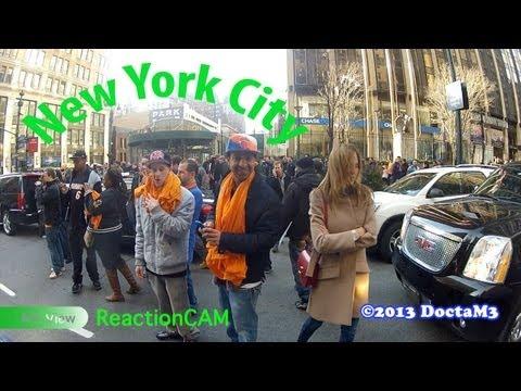 Reaction Video #6: Aventador Takes On New York City