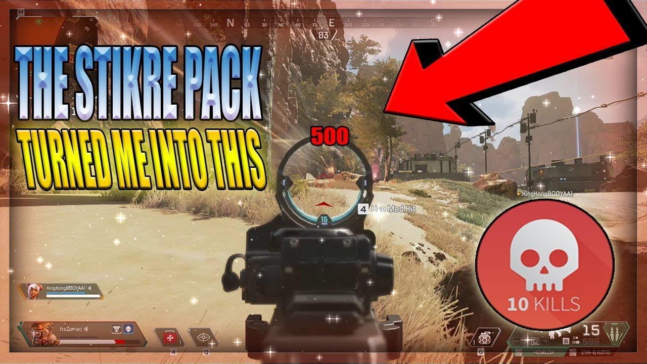 Strike pack ps4 mods apex legends