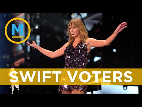 Taylor Swift causes spike in voter registrations | Your Morning Mp3