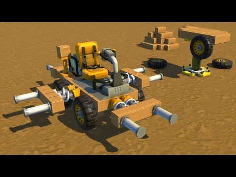 BUILD YOUR OWN VEHICLE! (Scrap Mechanic)