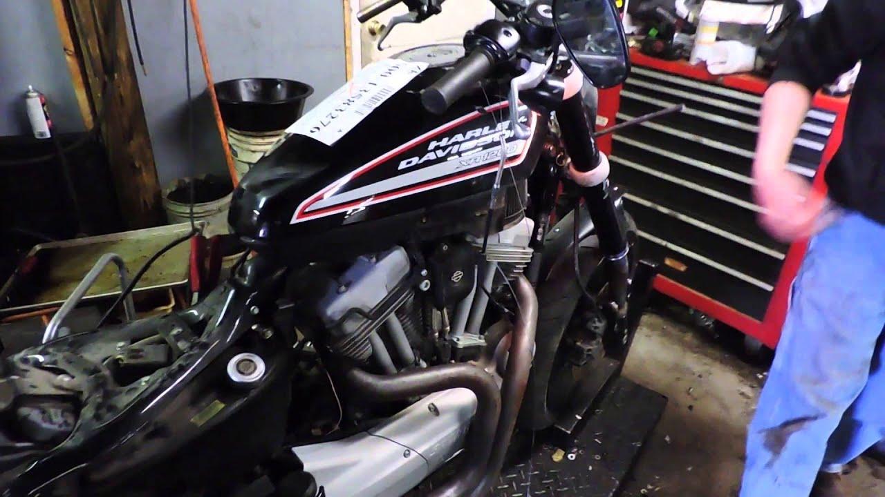09 harley davidson xr 1200 used parts for sale test video