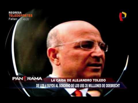 La caída de Alejandro Toledo: De los 4 suyos, al soborno de los US$20 millones